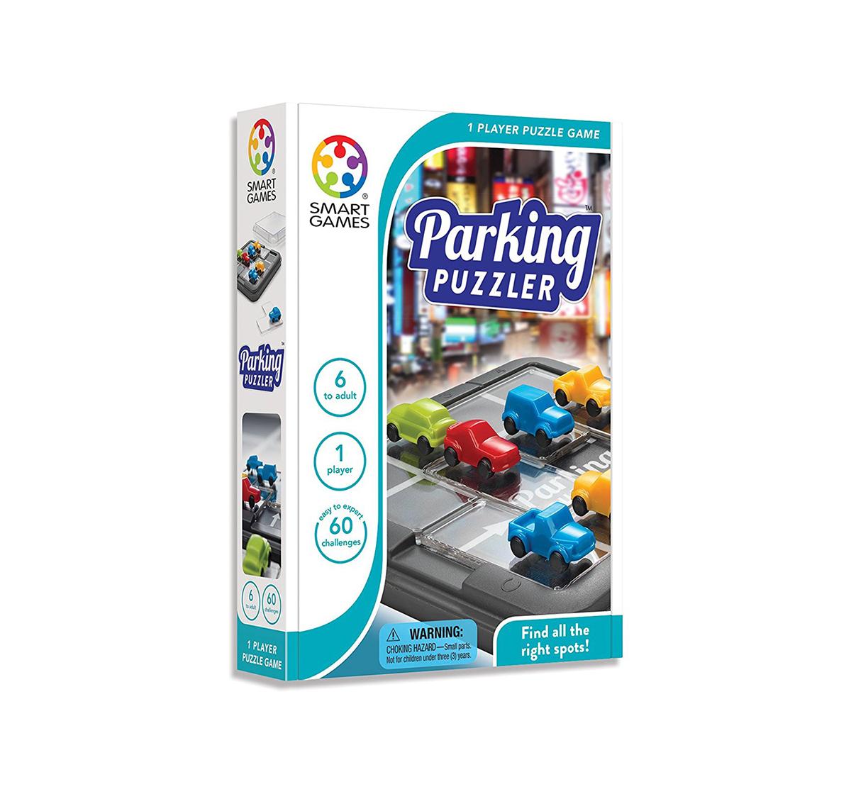 Smart Games | Smart Games Parking Puzzler for Kids age 6Y+