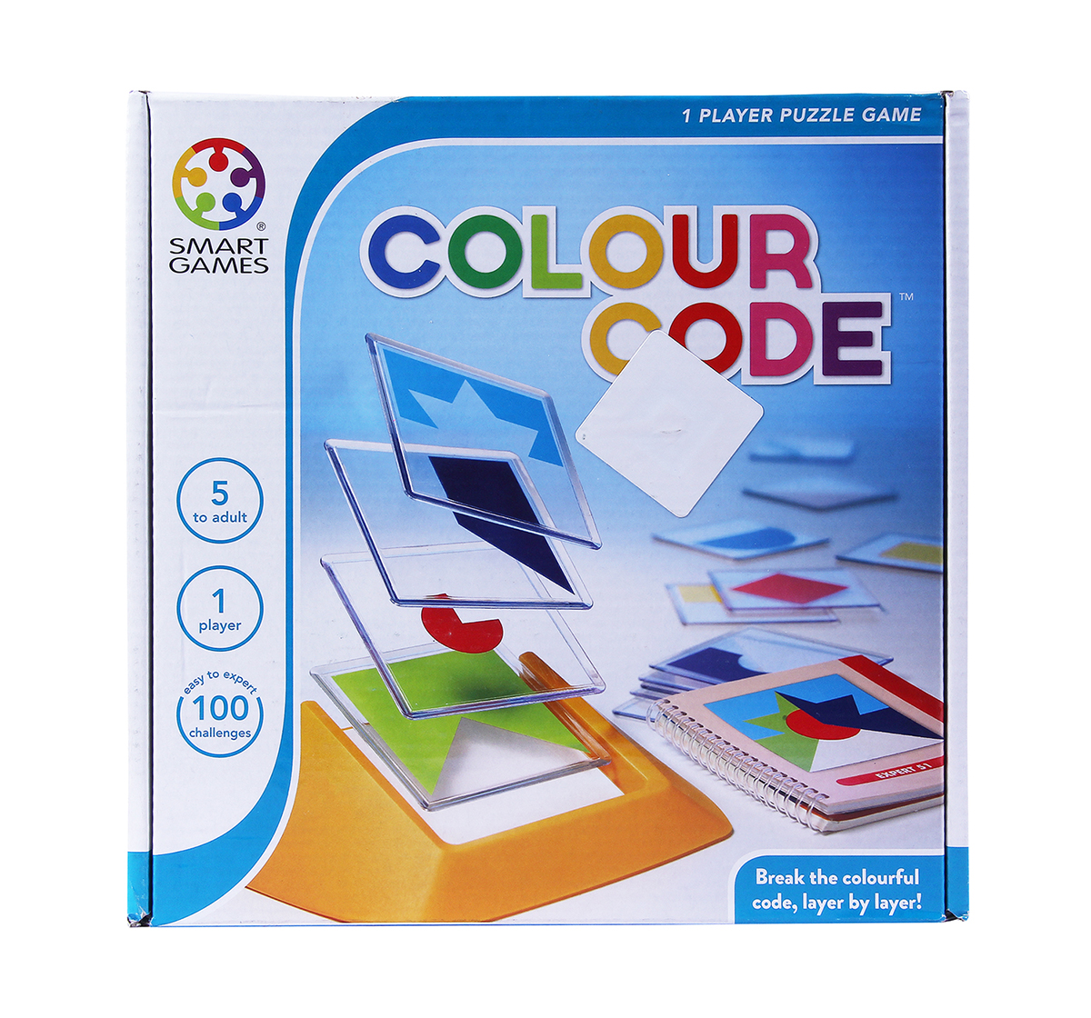 Smart Games | Smart Games Colour Code  for Kids age 5Y+