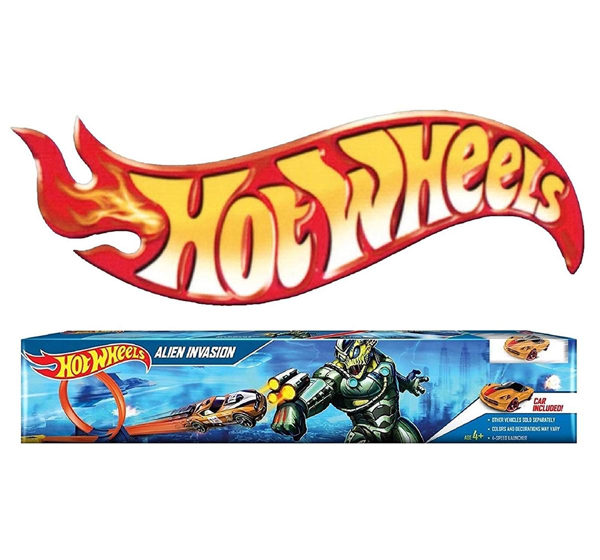 Hot Wheels   Hot Wheels Alien Invasion Trackset Tracksets & Train Sets for Kids age 3Y+
