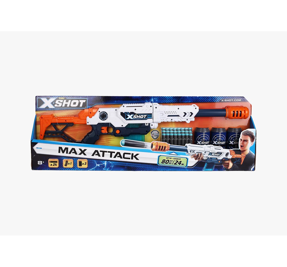 X-Shot | X-Shot Ne Zuru Clip Blaster L Max Attack Blasters for Kids age 8Y+