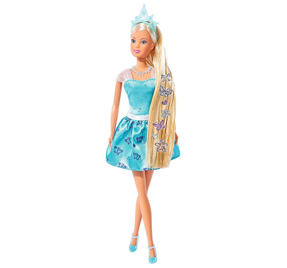 Steffi Love | Steffi Love - Hair Tattoo Princess, Blue Dolls & Accessories for Girls age 3Y+ (Blue)