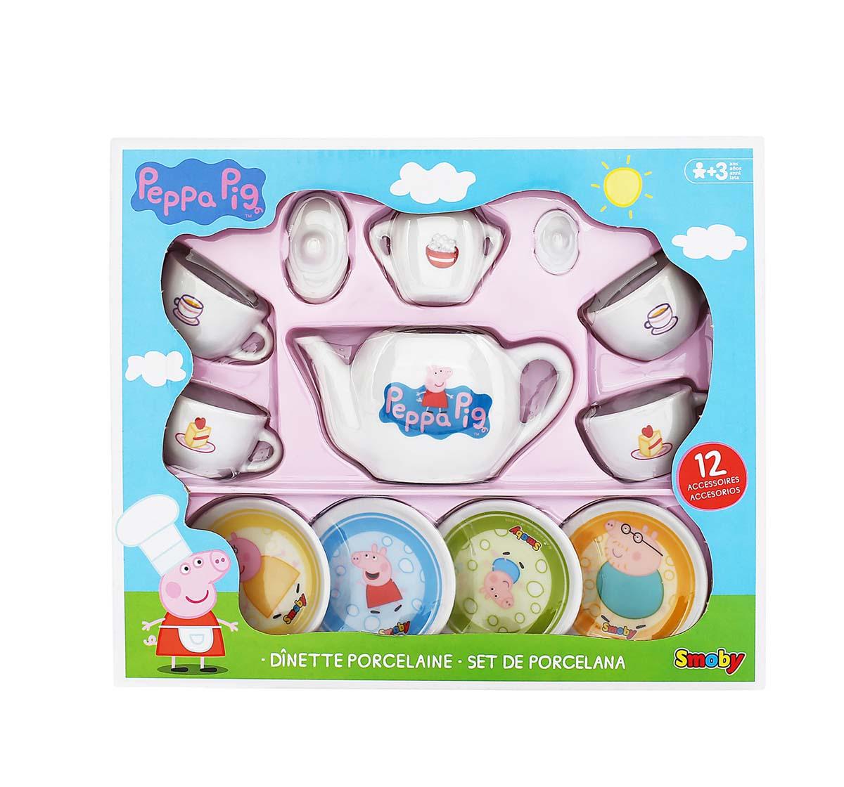 Peppa Pig | Peppa Pig Smoby and Porcelain Tea Set Kitchen Sets & Appliances for Girls age 3Y+
