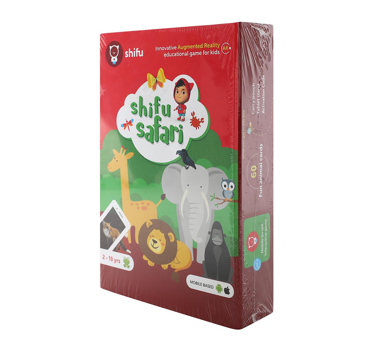 Playshifu | Playshifu Safari Augmented Reality Learning Games - Ios & Android (60 Animal Cards) Science Kits for Kids age 24M+
