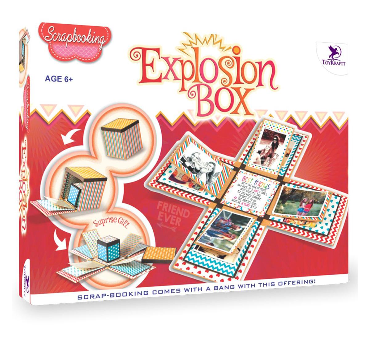 Toy Kraft   Toy Kraft Explosion Box, Multicolor, 7Y+