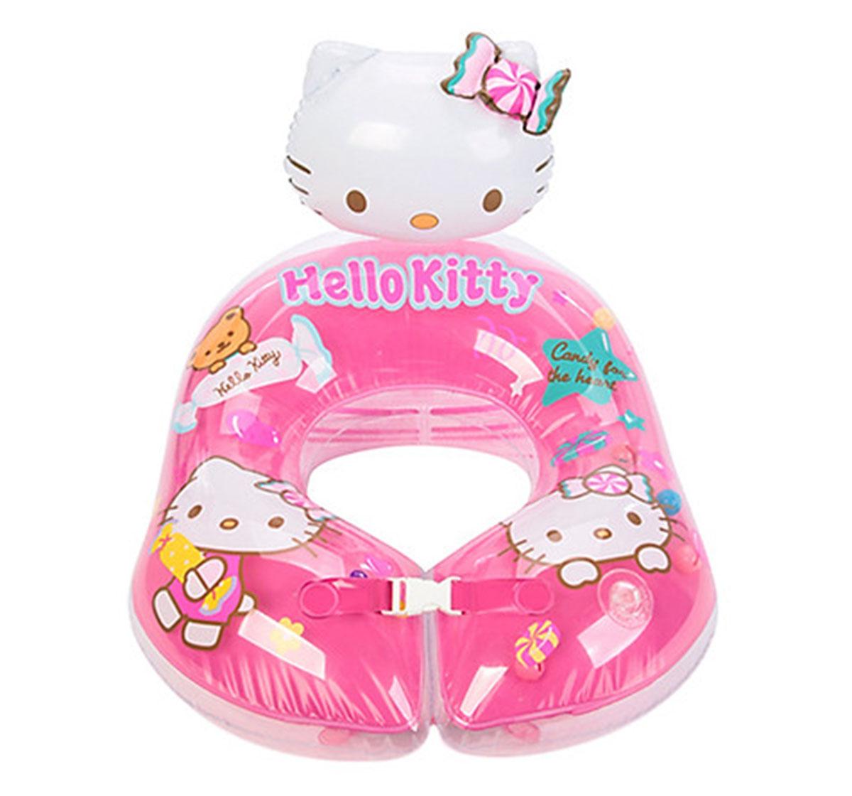 Disney   Disney Mesuca Pink Hello Kitty Swim Ring, Blue, 2Y+