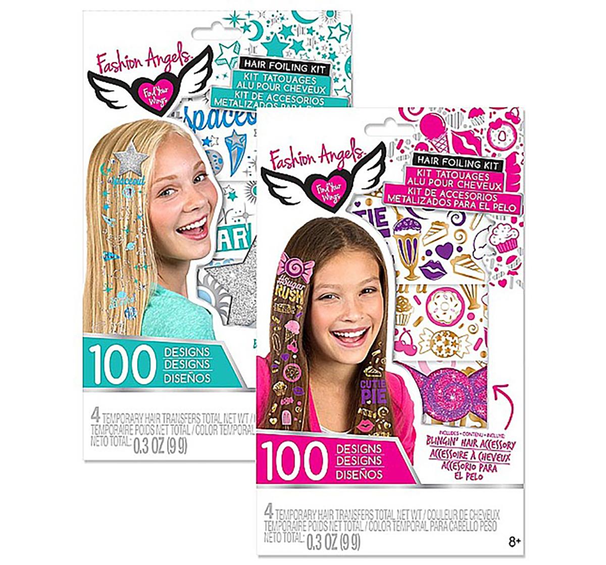 Fashion Angels | Fashion Angels Hair Foiling Assorted DIY Art & Craft Kits for Girls age 8Y+