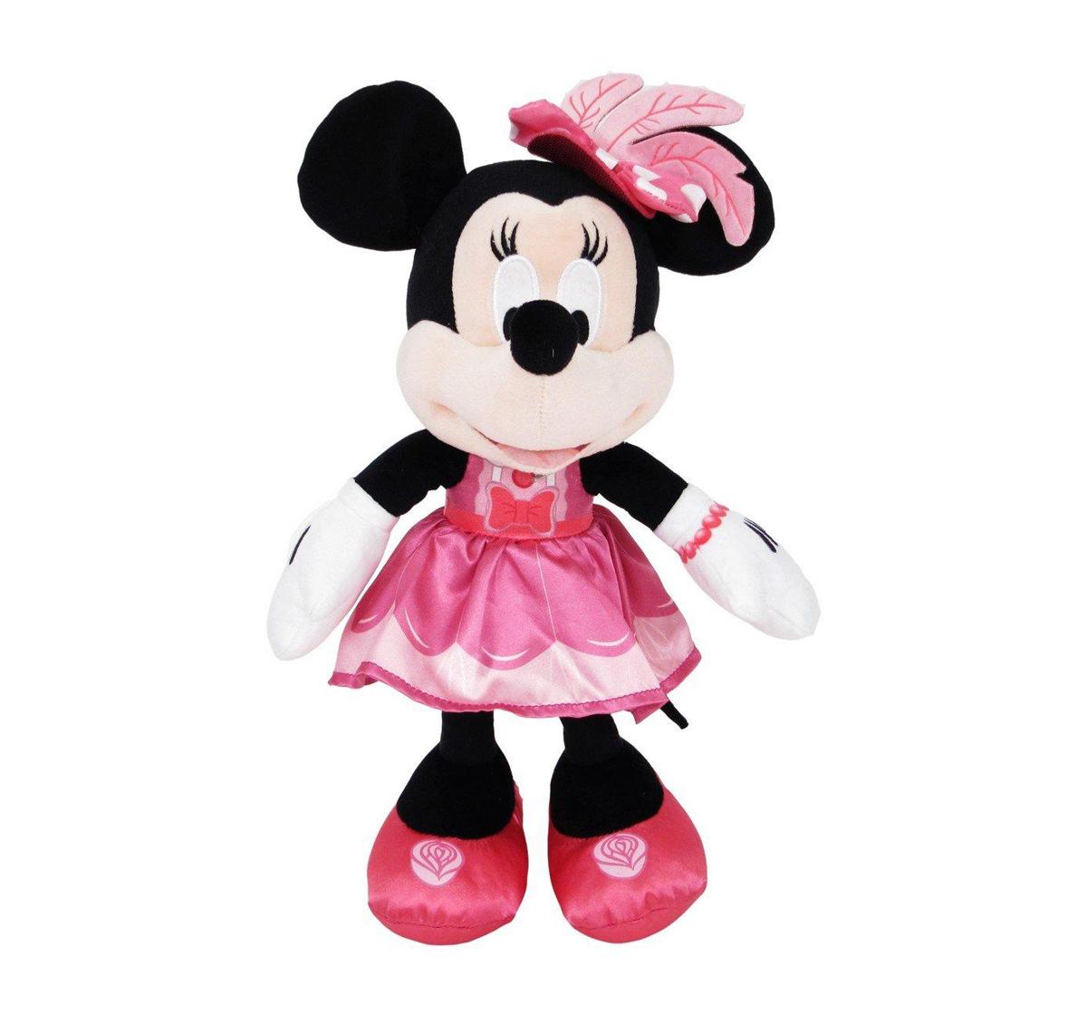 "Disney | Disney Minnie In Tea Time Dress Plush 10"" for Kids age 1Y+"