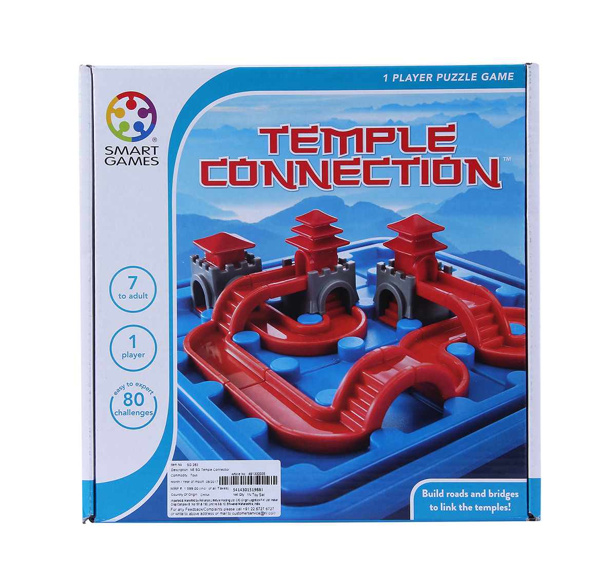 Smart Games | Smart Games Temple Connection for Kids age 7Y+