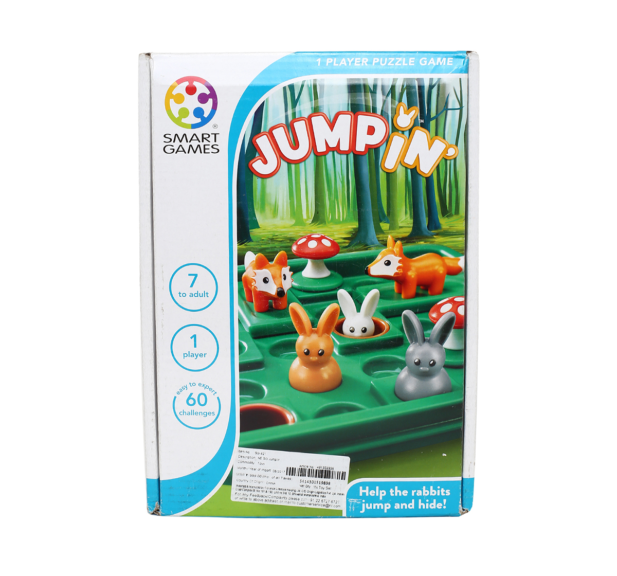 Smart Games   Smart Games Jump'In for Kids age 7Y+