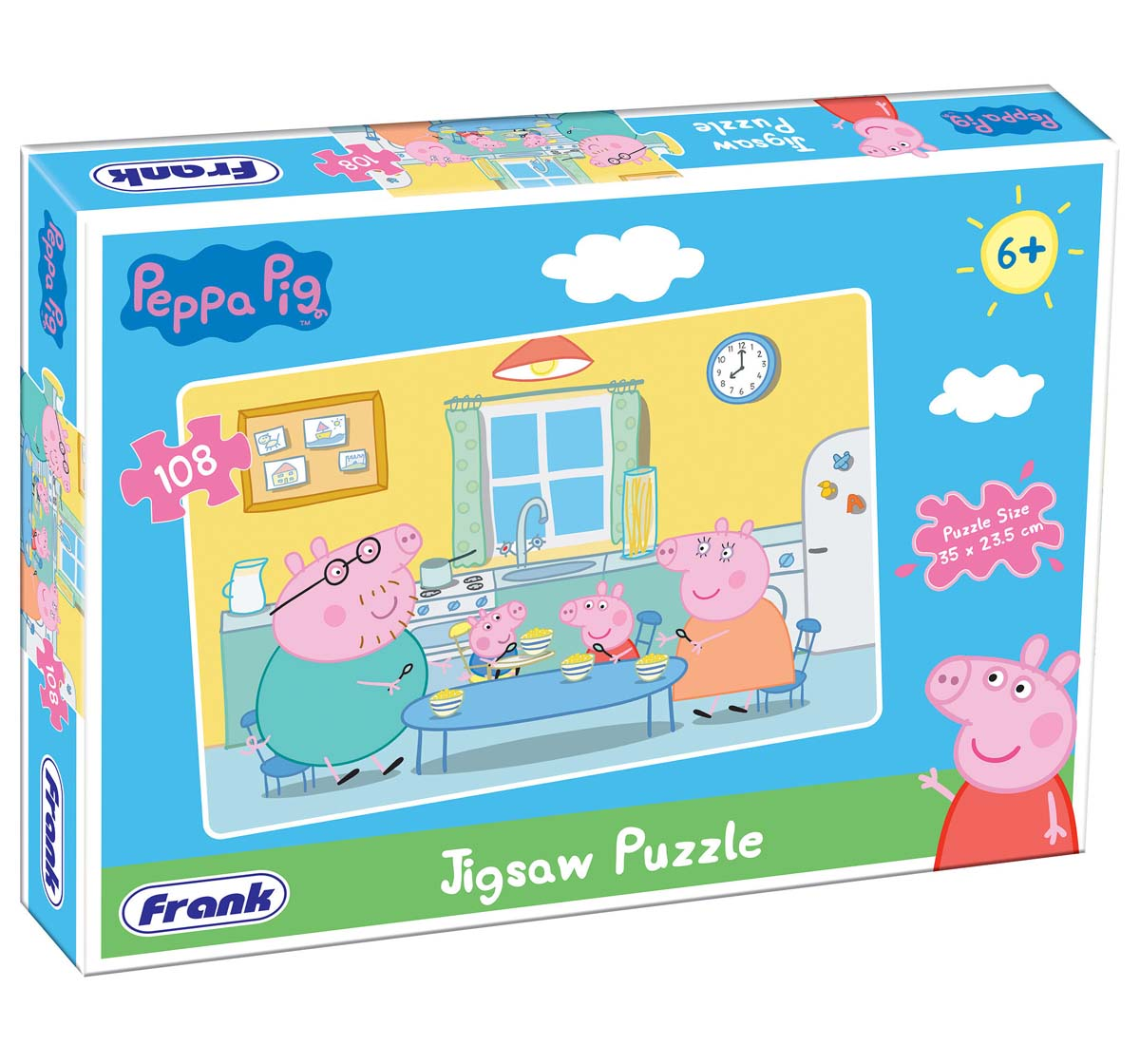 Frank | Frank Peppa Pig 108 Pcs Puzzle Puzzles for Kids Age 6Y+