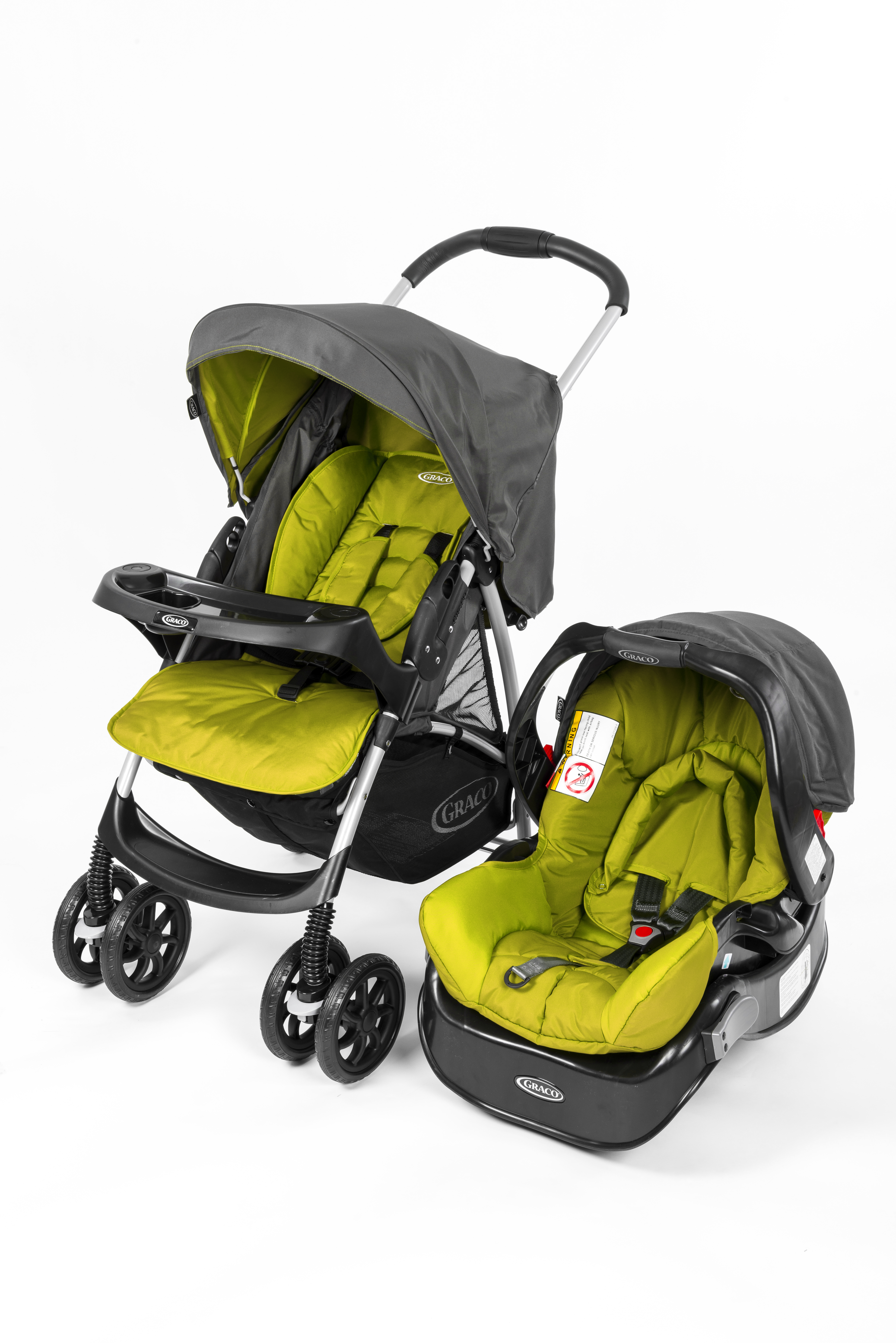 Mothercare   Graco Candy Rock Travel System  Green