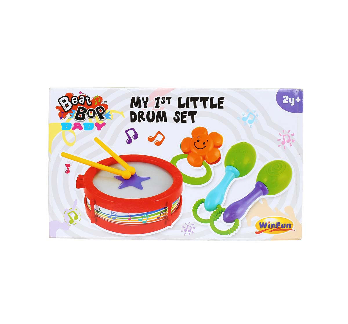 WinFun | Winfun My 1St Band Kit, Red/Green Musical Toys for Kids age 24M+