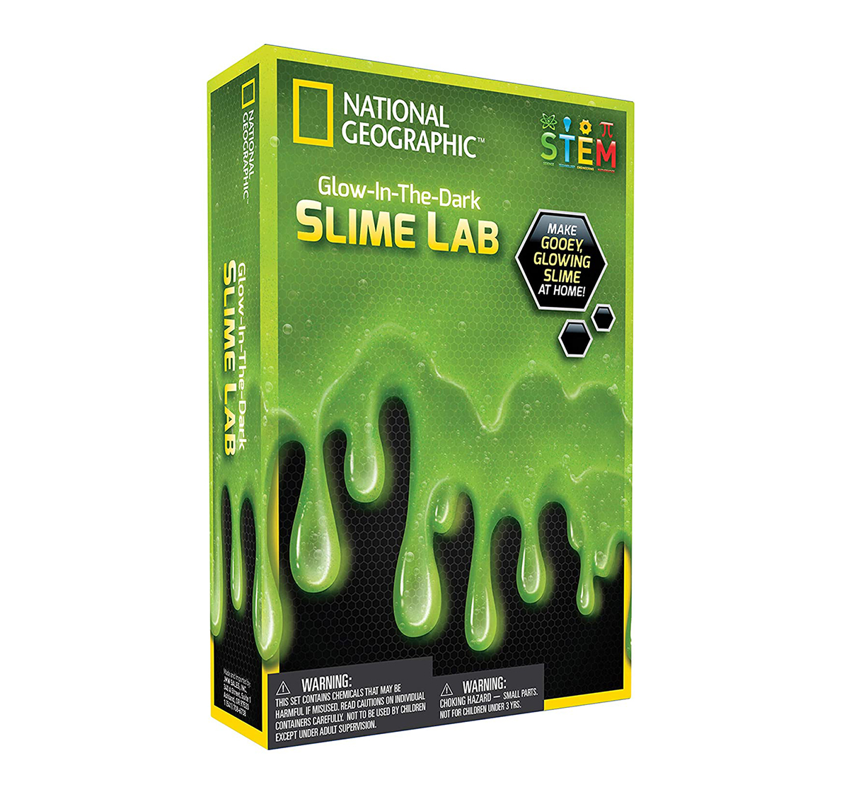 National Geographic   National Geographic Slime DIY Science Lab for Kids age 6Y+ (Green)