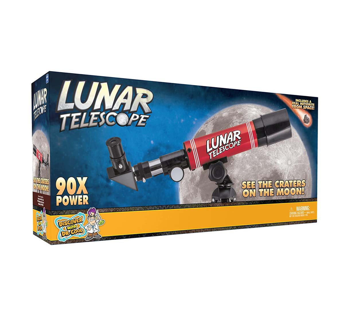National Geographic |  National Geographic Discover With Dr. Cool Lunar Telescope For Kids Science Equipments for Kids age 6Y+