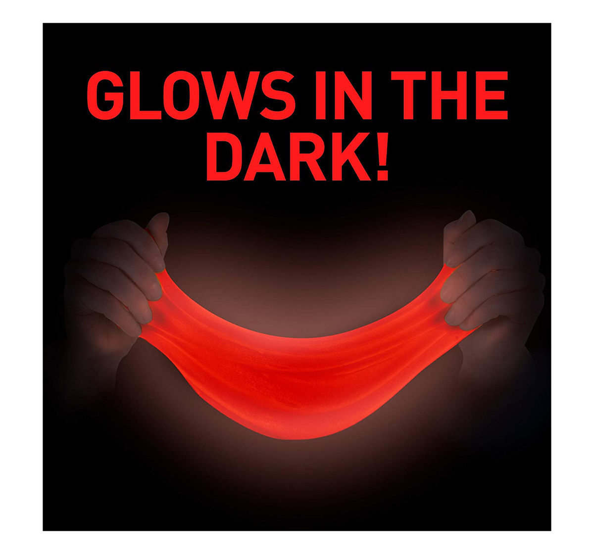 National Geographic | National Geographic DIY Science Lab Make Glowing Slime for Kids age 6Y+ (Red)