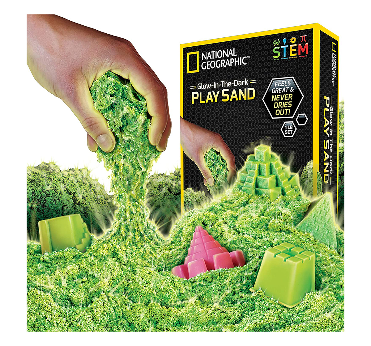 National Geographic   National Geographic Play Sand for Kids age 3Y+