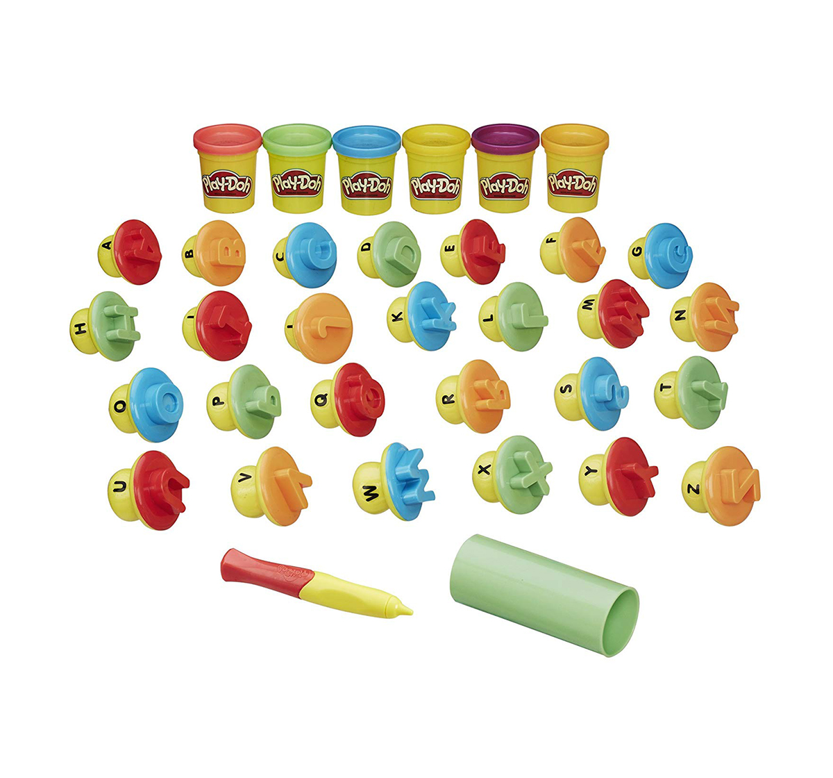 Play-Doh |  Play-Doh Shape and Learn Letters and Language  Clay & Dough for Kids age 12M+