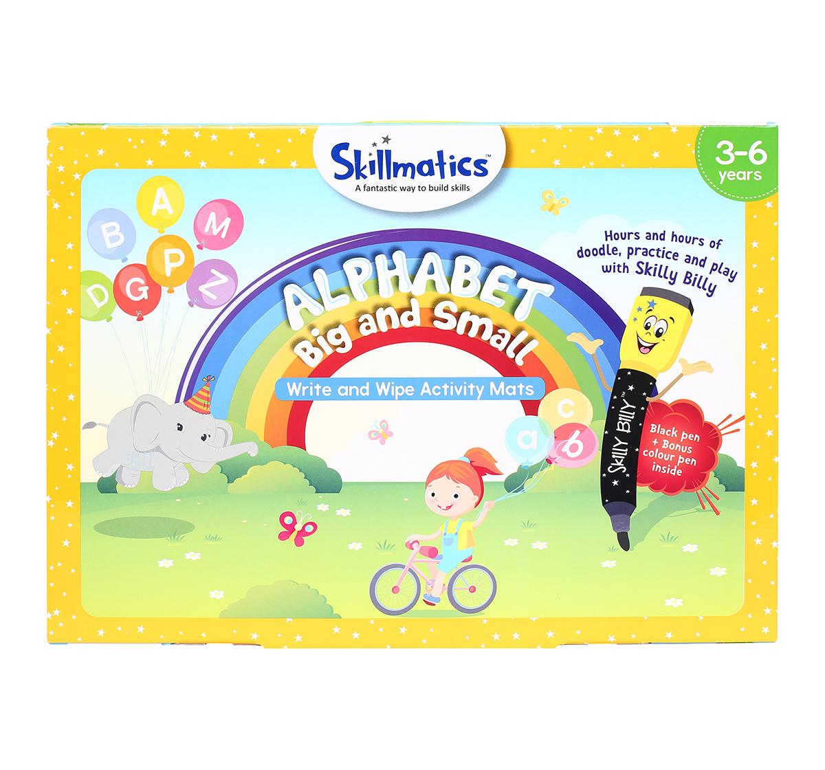 Skillmatics   Skillmatics Educational Game: Alphabet Big And Small, 3-6 Years