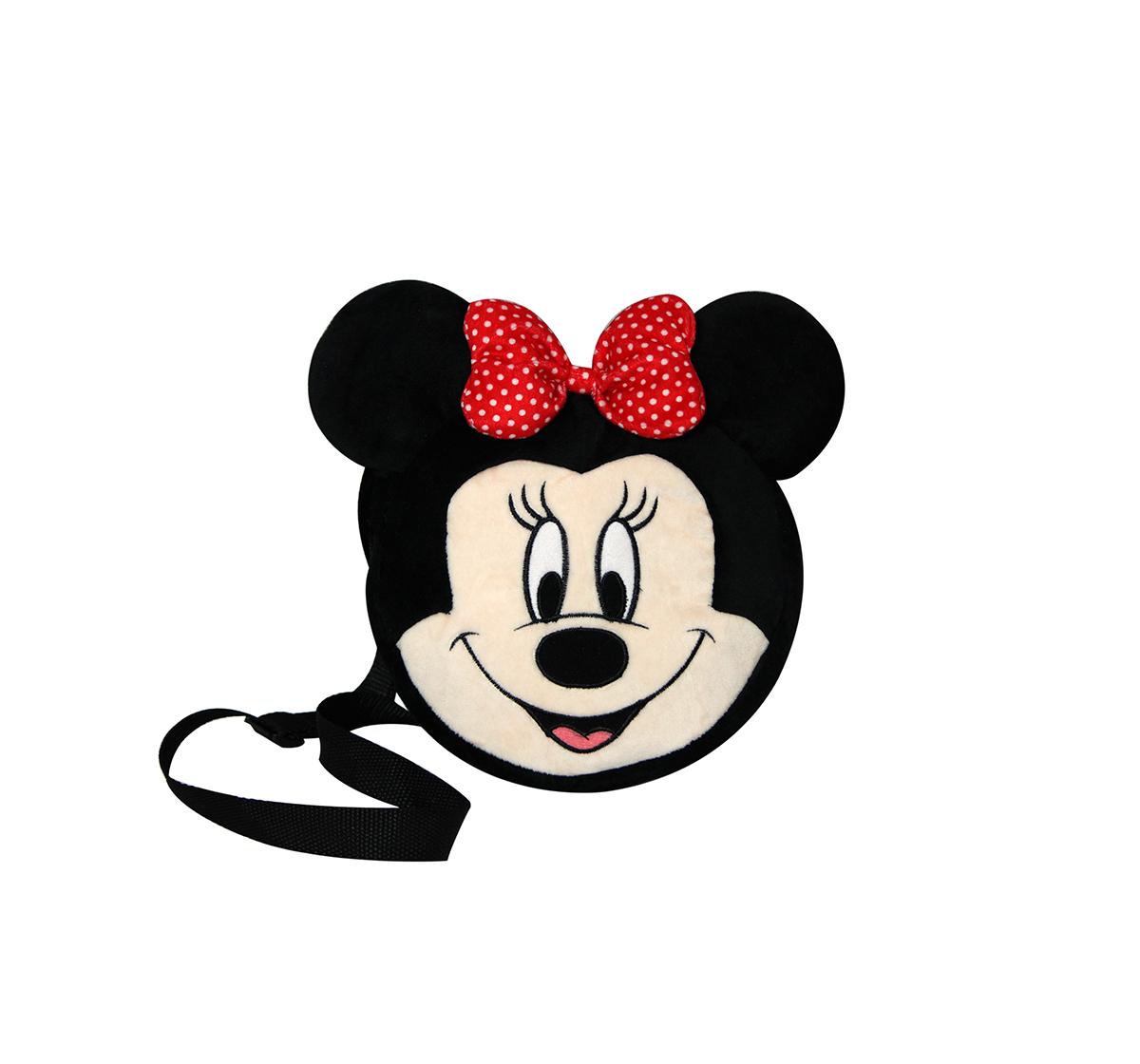 Disney | Disney Minnie Shape Side Bag Plush Accessories for Kids age 12M+ - 19.05 Cm