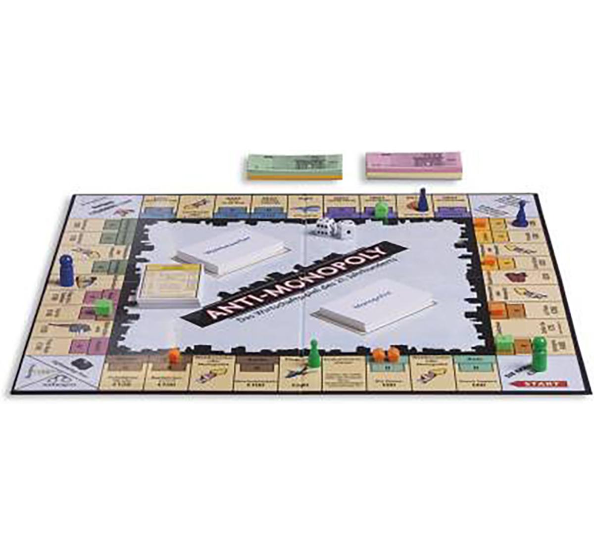 Funskool | Funskool Anti Monopoly- 2 To 6 Players Board Games for Kids age 8Y+