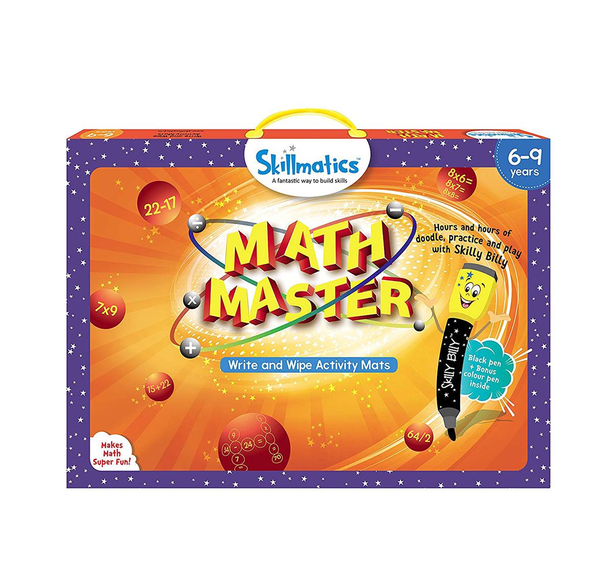 Skillmatics    Skillmatics Educational Game : Math Master Games for Kids age 6Y+