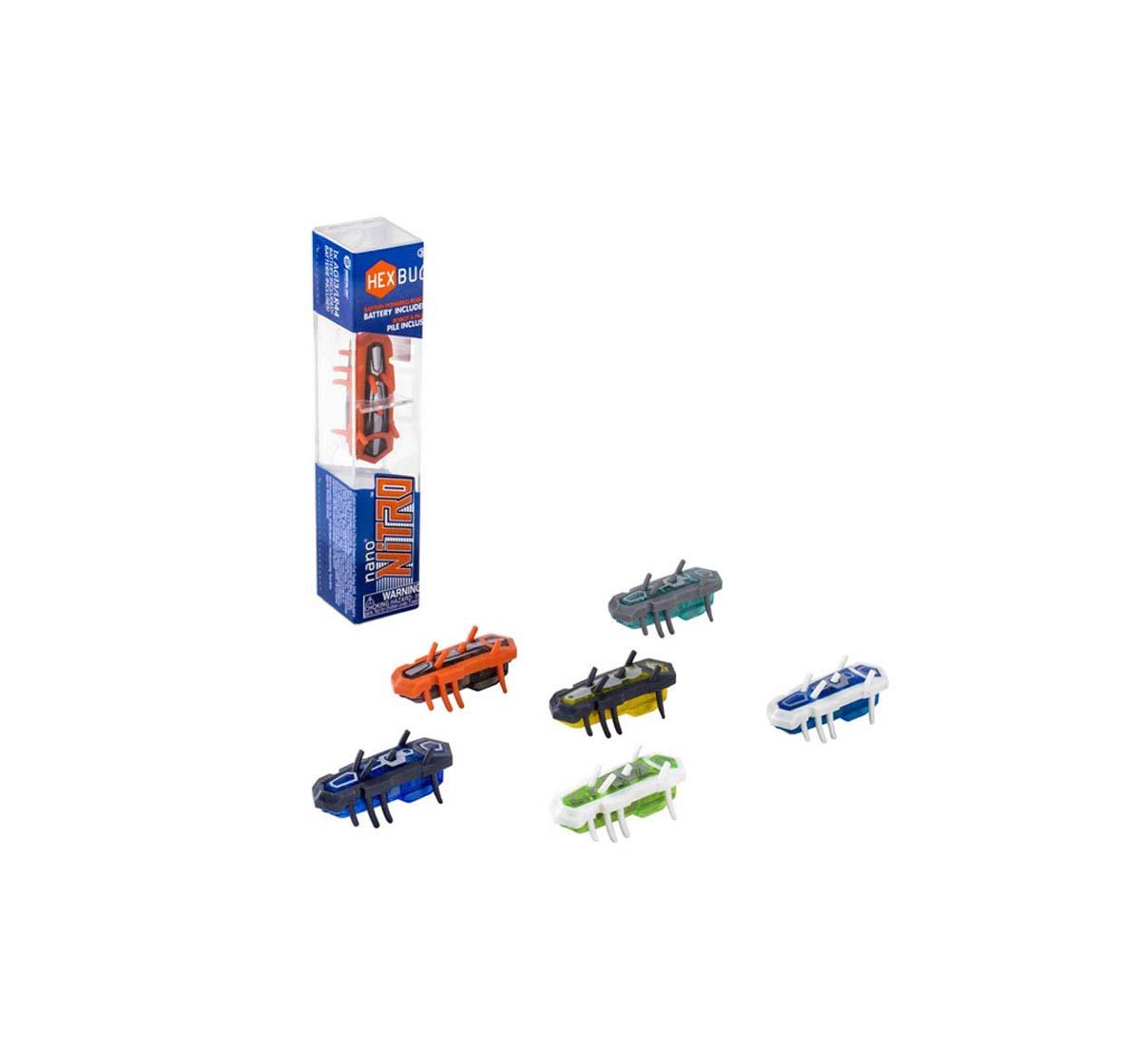 Hexbug   Hexbug Nitro Nano Single Assorted Robotics for Kids age 3Y+