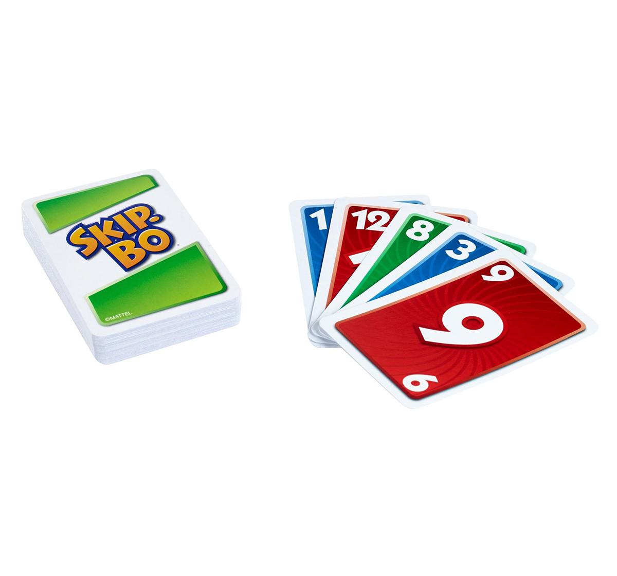 Mattel | Mattel Games Skip Bo Card Game for Kids age 7Y+