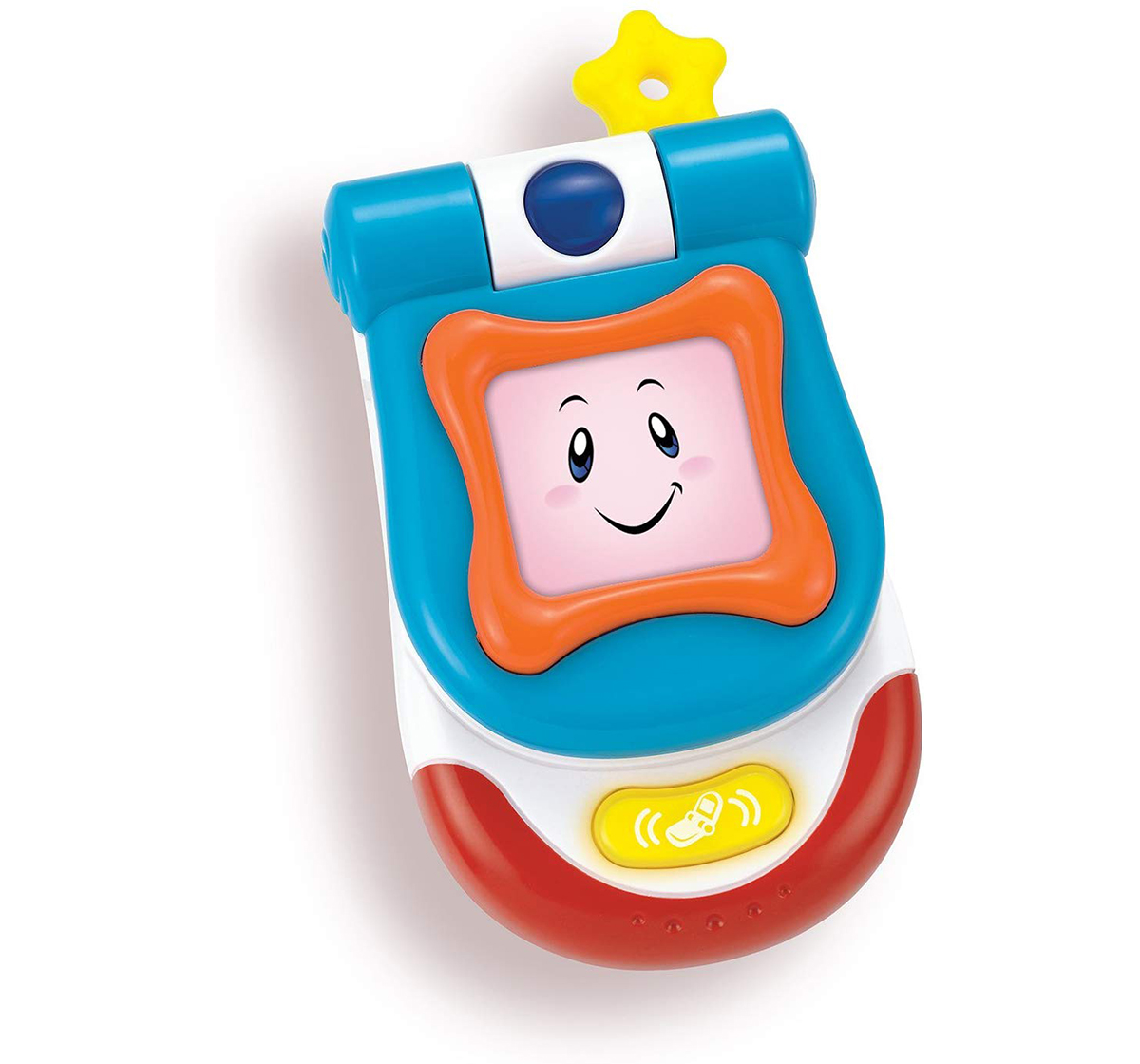 WinFun | Winfun My Flip up Sounds Phone - Blue Learning Toys for Kids age 3M+ (Blue)