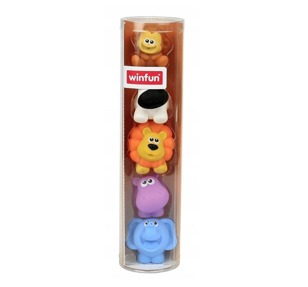 WinFun | Winfun My Jungle Pals Set-Bath Toys & Accessories for Kids age 6M+