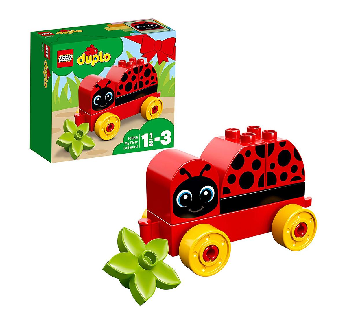 LEGO | Lego Duplo My First Ladybug Building  (6 Pcs) 10859  Blocks for Kids age 1½Y+