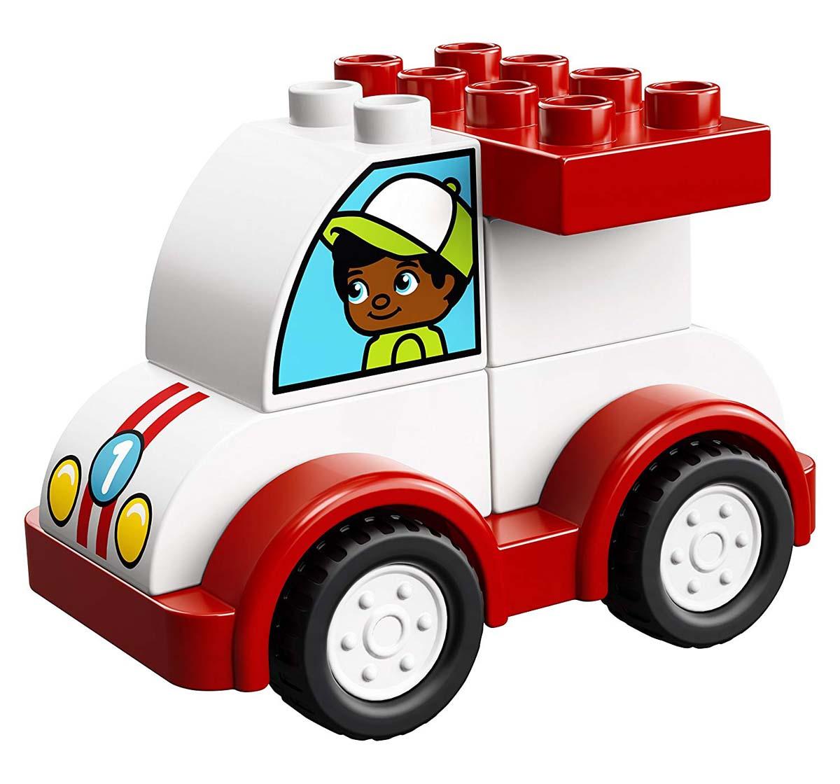 LEGO   Lego Duplo My First Race Car Building (6 Pcs) 10860 Blocks for Kids age 1½Y+