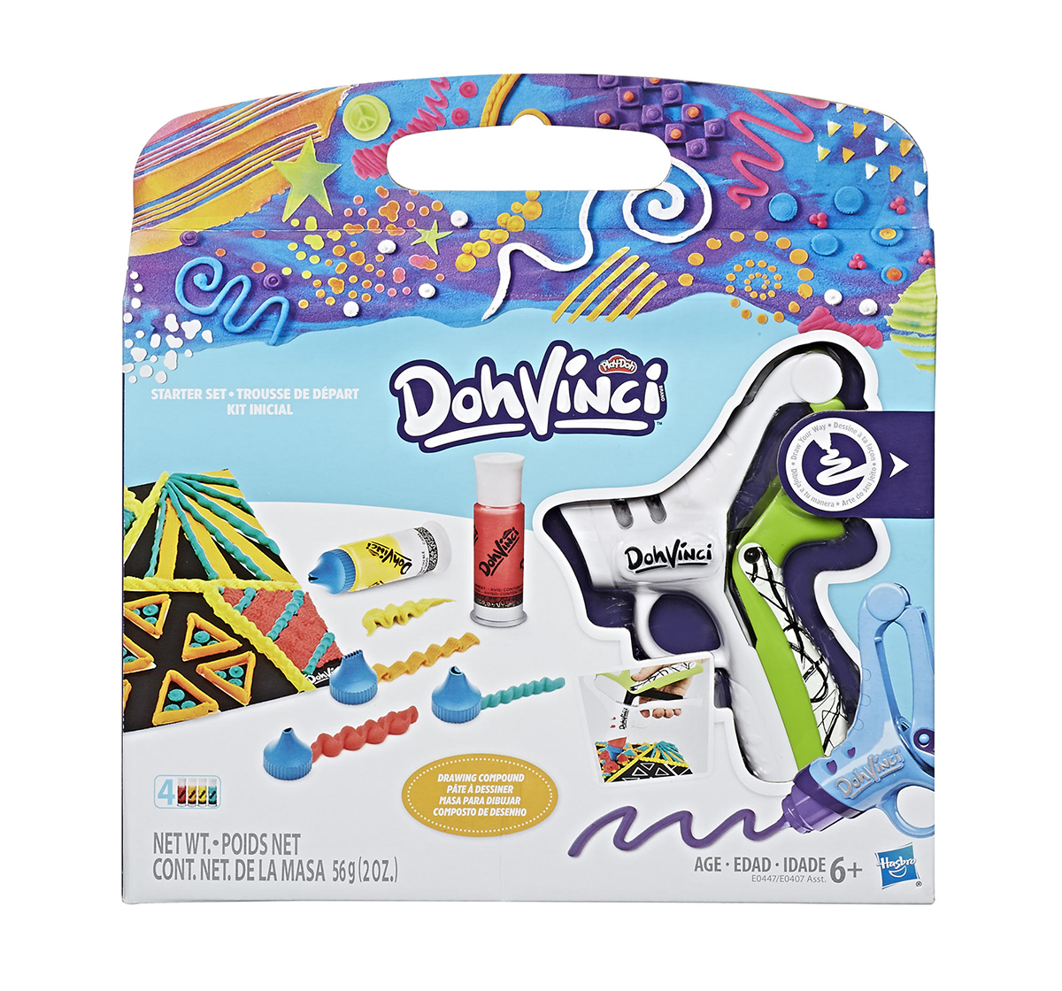 Play-Doh   Play-Doh Dohvinci Starter Set Assorted Clay & Dough for Kids age 6Y+