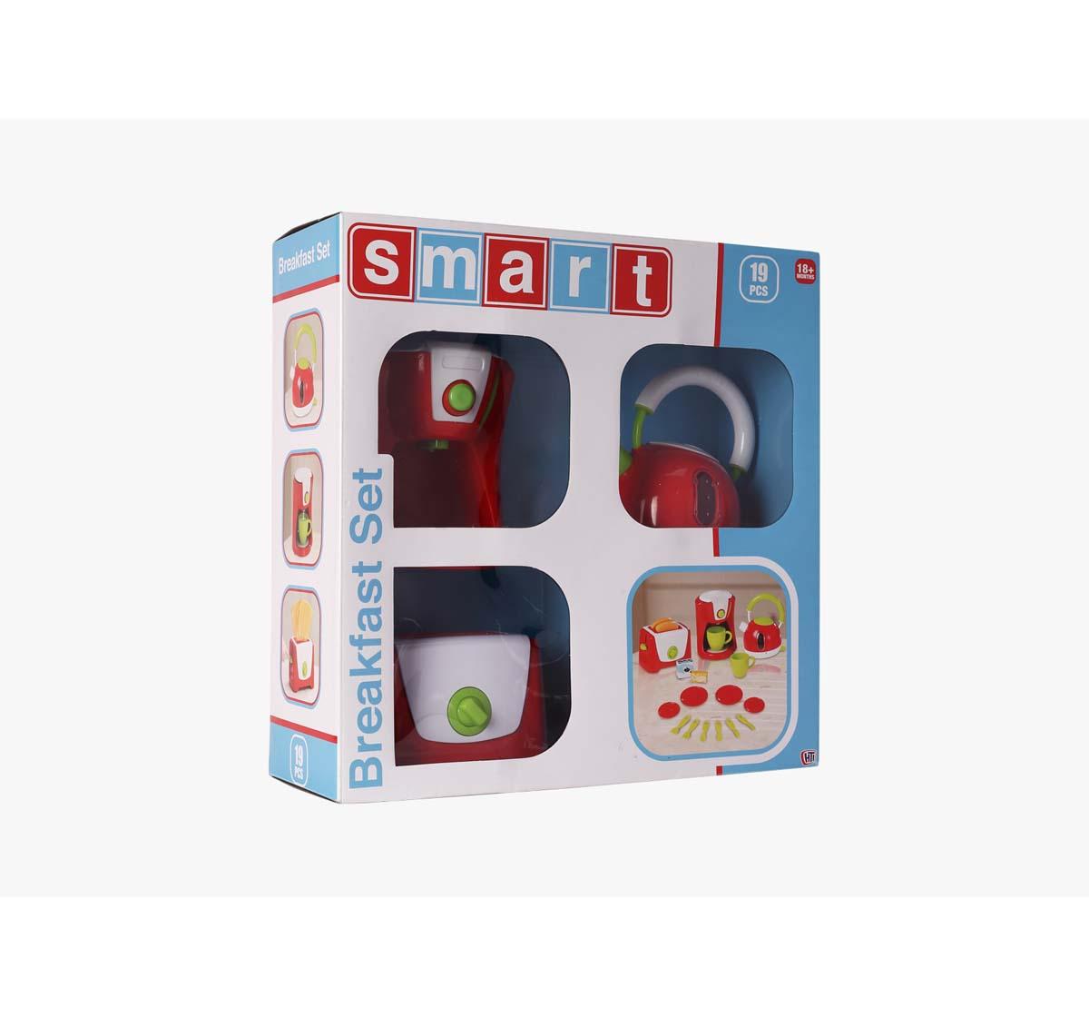 Smart   Smart Breakfast Set Supermarket & Food Playsets for Girls age 18M +