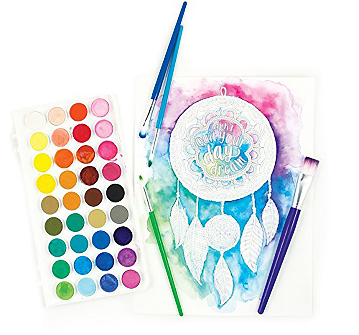 Ooly | Ooly Lil Watercolor Paint Pods School Stationery for Kids age 3Y+