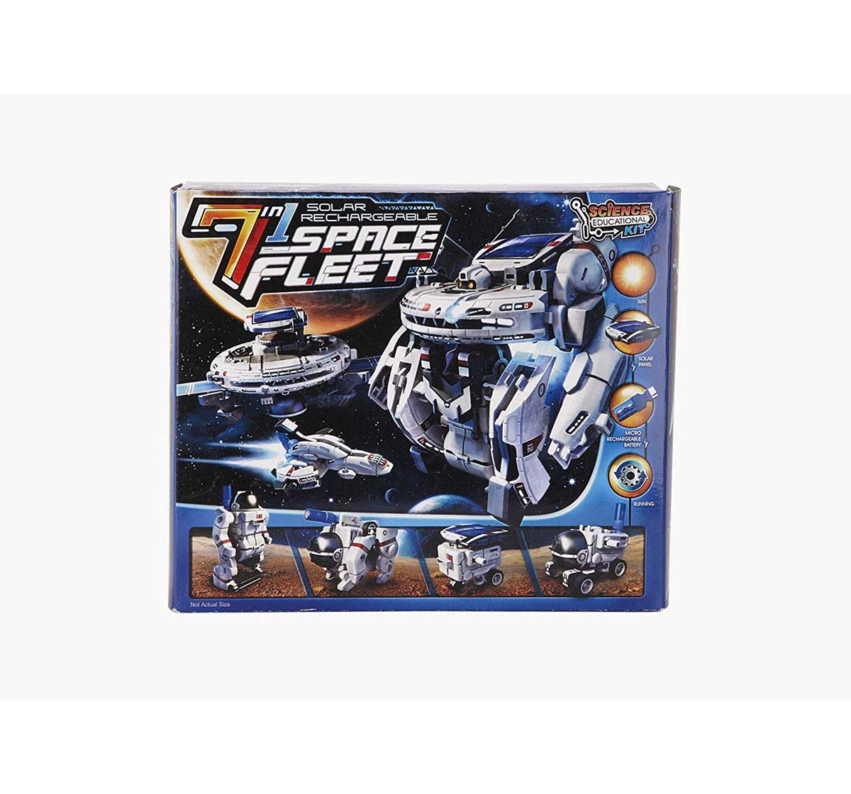 Red 5 | Red 5 7 In 1 Solar Rechargeable Space Fleet Science Kits for Kids age 10Y+