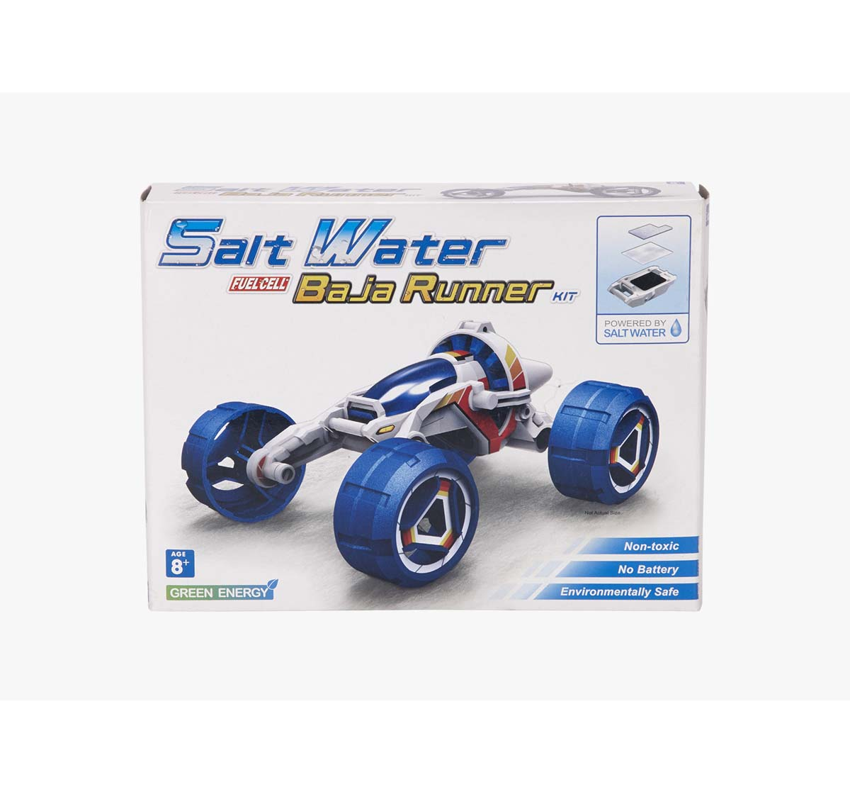 Red 5   Red5 Blue Salt Water Fuel Cell Baja Runner Science Kits for Kids age 8Y+