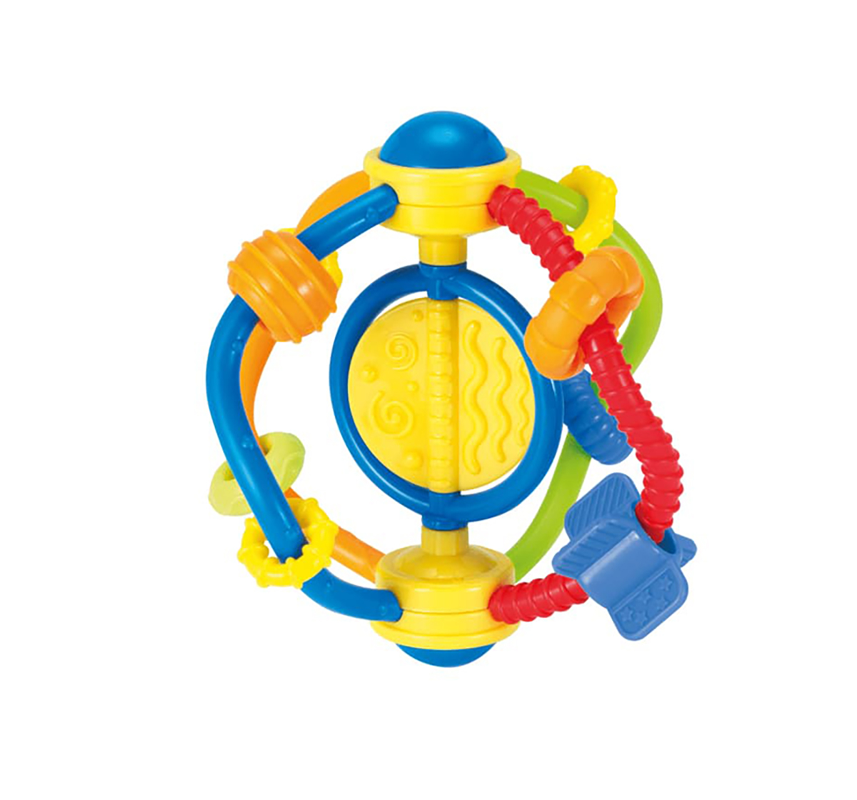 WinFun | Winfun grip n play rattle New Born for Kids age 0M+