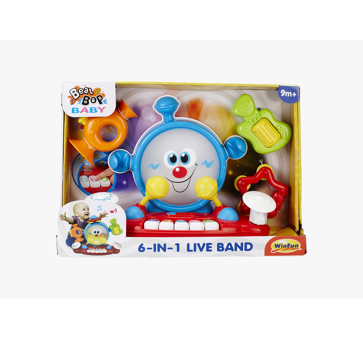 WinFun | Winfun My First 6 In 1 Music Band Musical Toys for Kids age 9M+