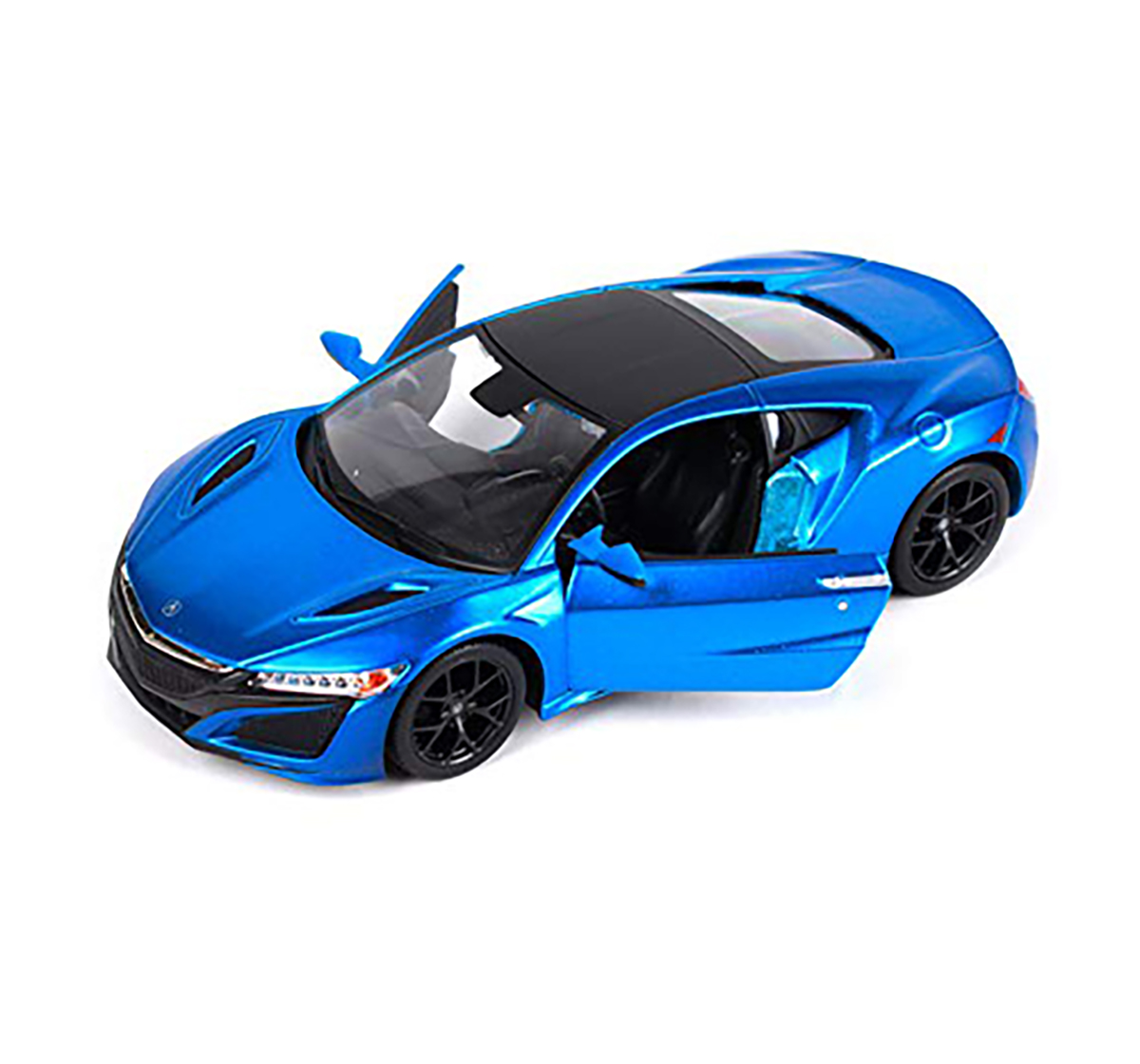 Msz | MSZ 1:31 Honda Acura NSX Car with Light and Sound for Kids age 3Y+ (Blue)