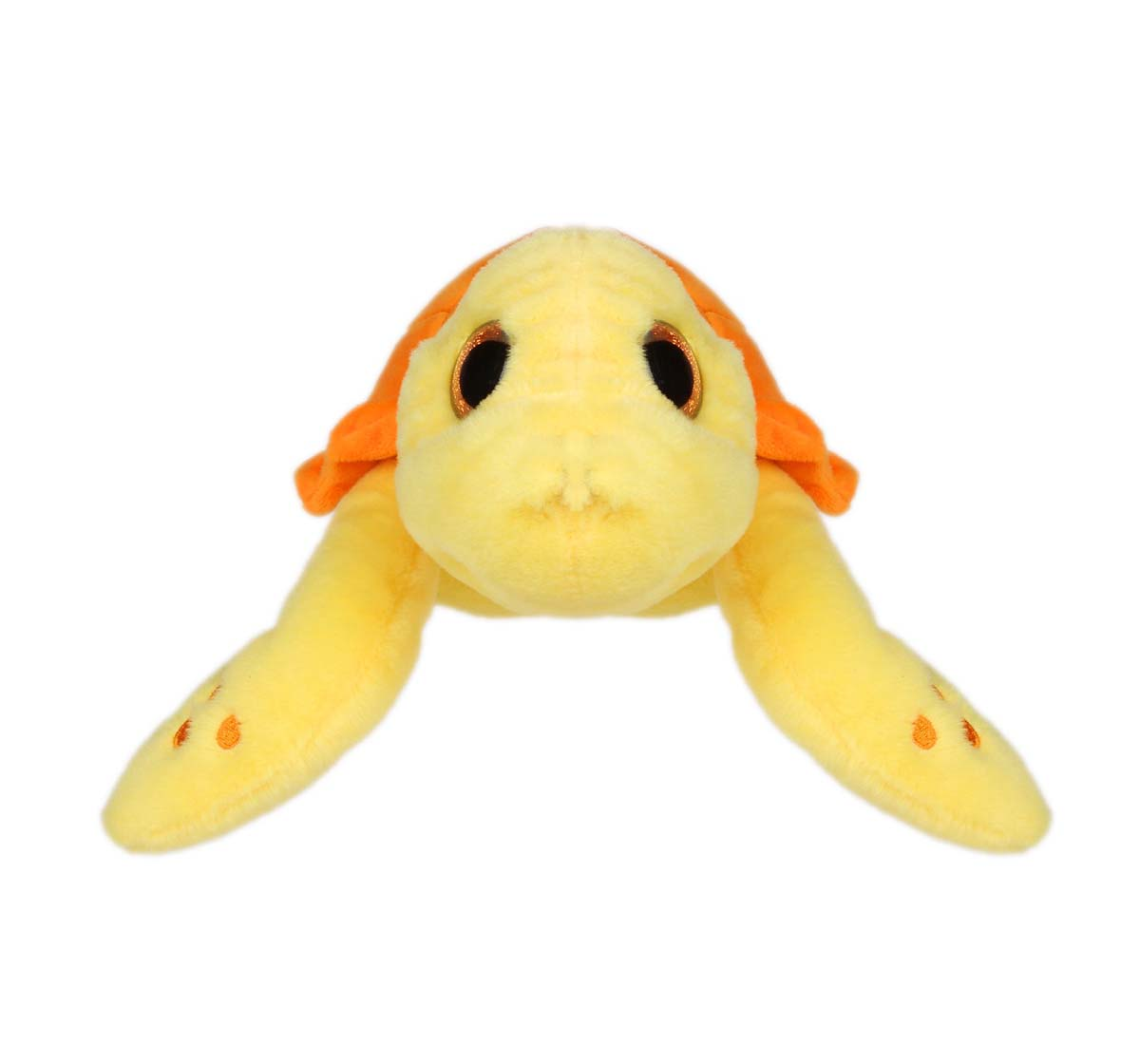 Cuddles   Cuddles Turtle With Sparkle Eye, 26 Cm Quirky Soft Toys for Kids Age 0M+ - 8 Cm (Green)