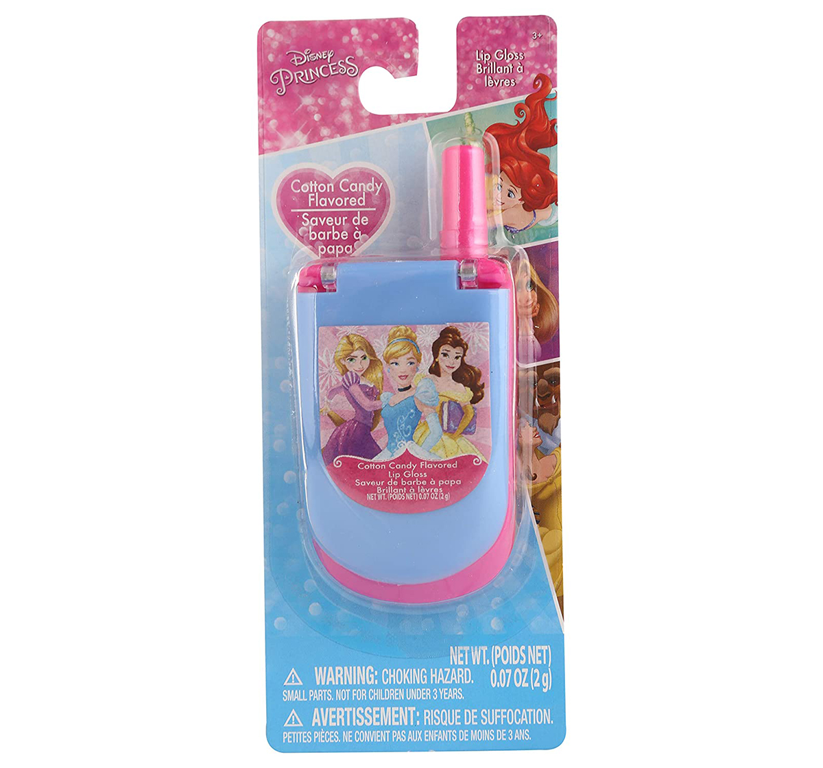 Townley Girl | Townley Girl Disney Princess Lip Gloss Cell Phone  DIY Art & Craft Kits for Girls age 3Y+