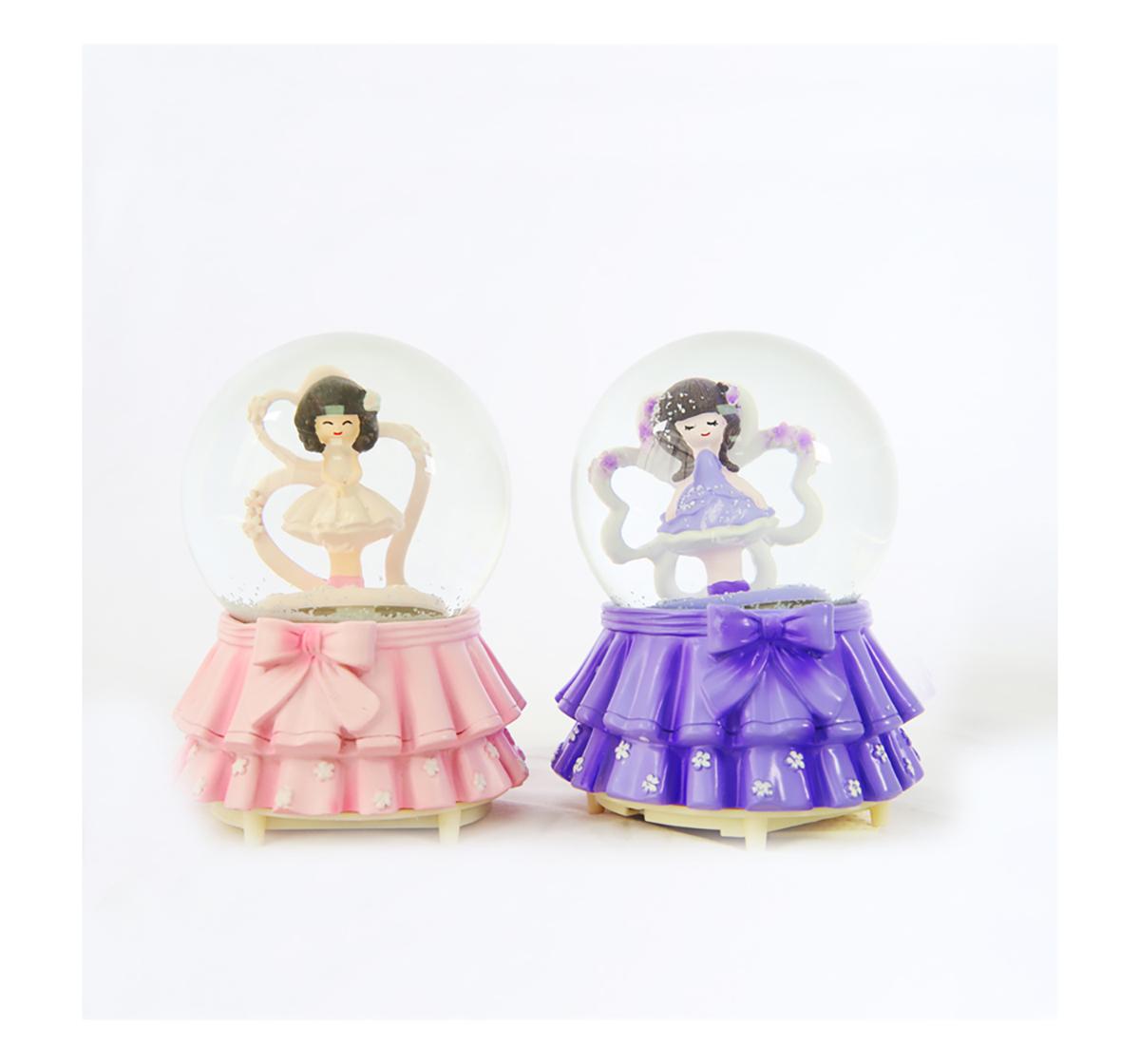 Karma   Karma Fairy Snowglobe 100Mm Impulse Toys for Kids age 7Y+ (Pink)