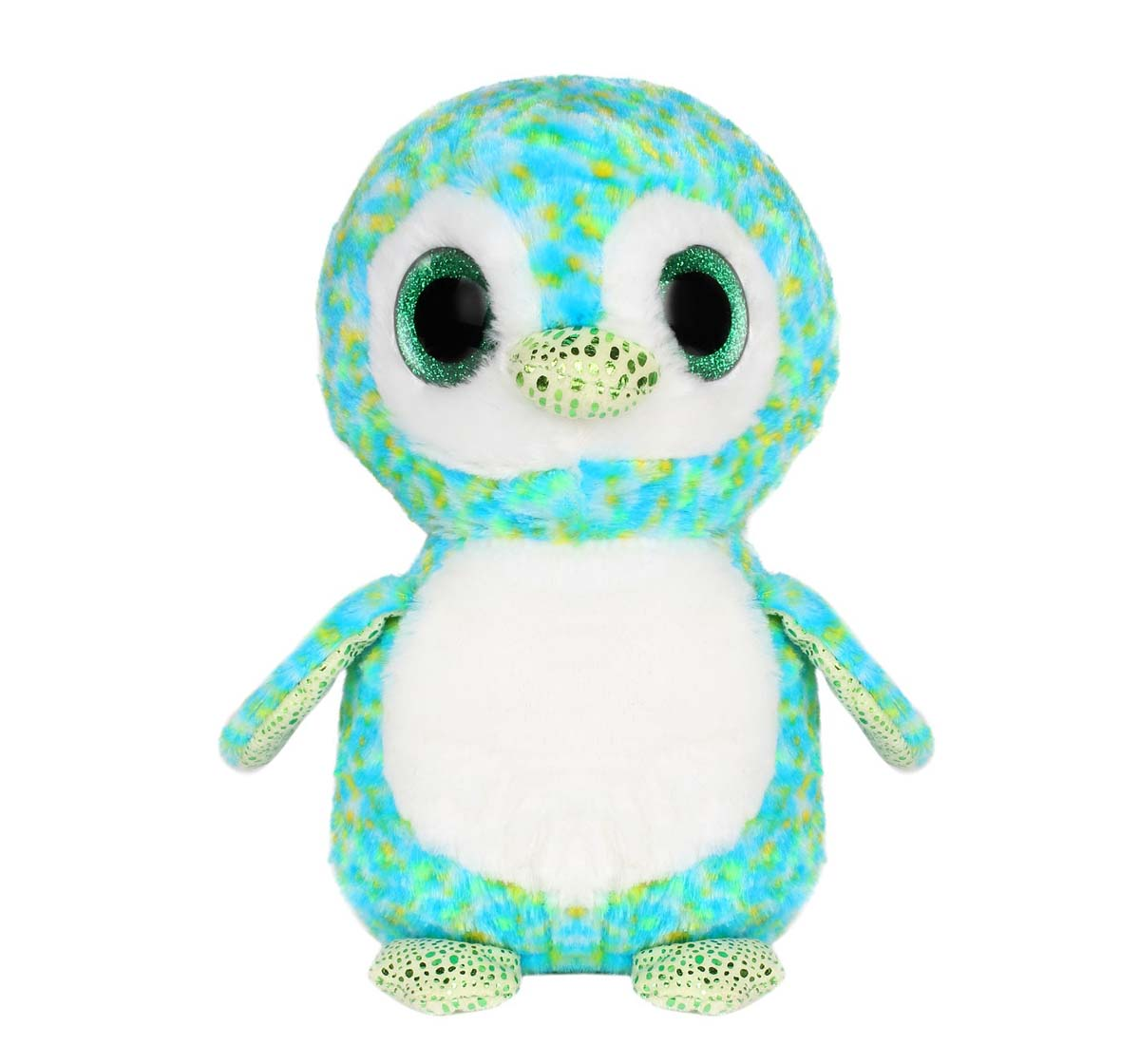 Qingdao | Qingdao Sitting Owl, 23Cm Quirky Soft Toys for Kids Age 0M+ - 23 Cm (Green)