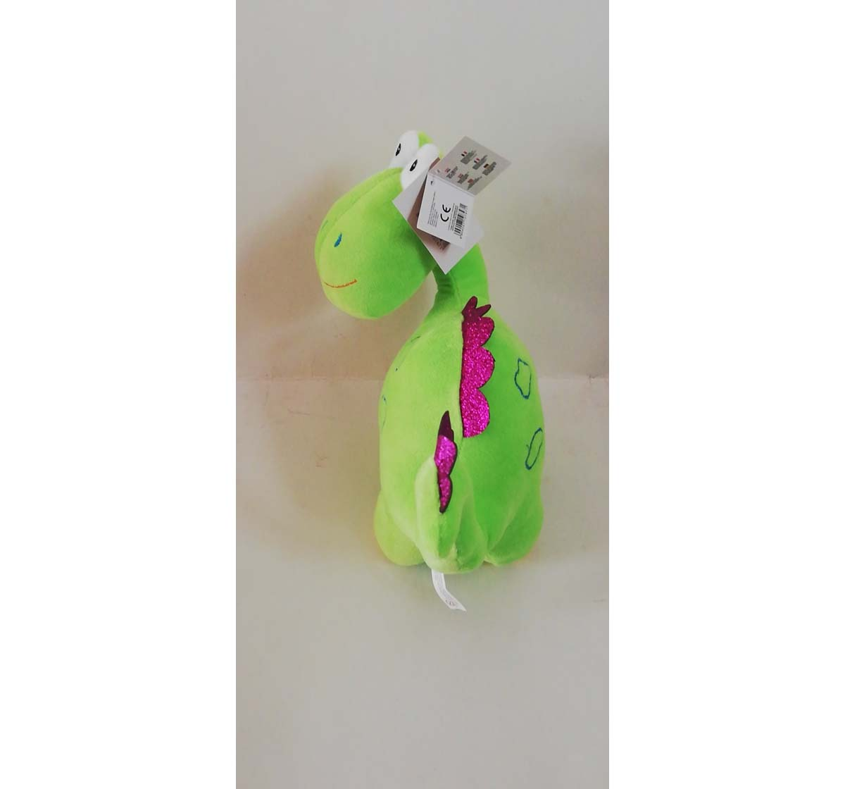 Sophie | Sophie Assorted Dino Plush Toy Quirky Soft Toys for Kids age 12M+ - 10 Cm (Orange)