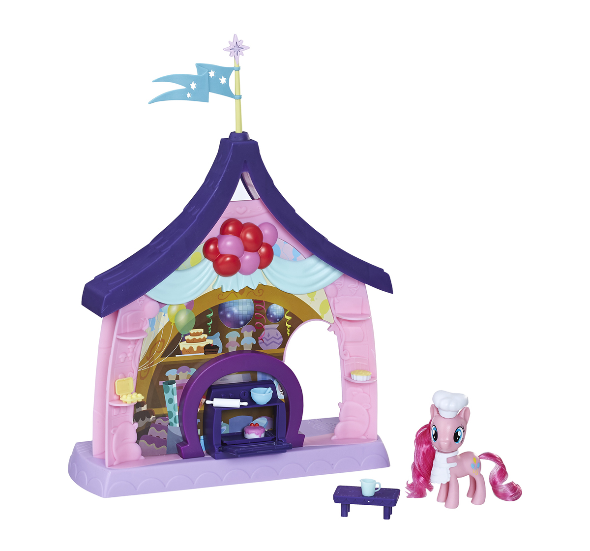 My Little Pony | My Little Pony Pinkie Pie Beats & Treats Magical Classroom Collectible Dolls for Girls age 3Y+