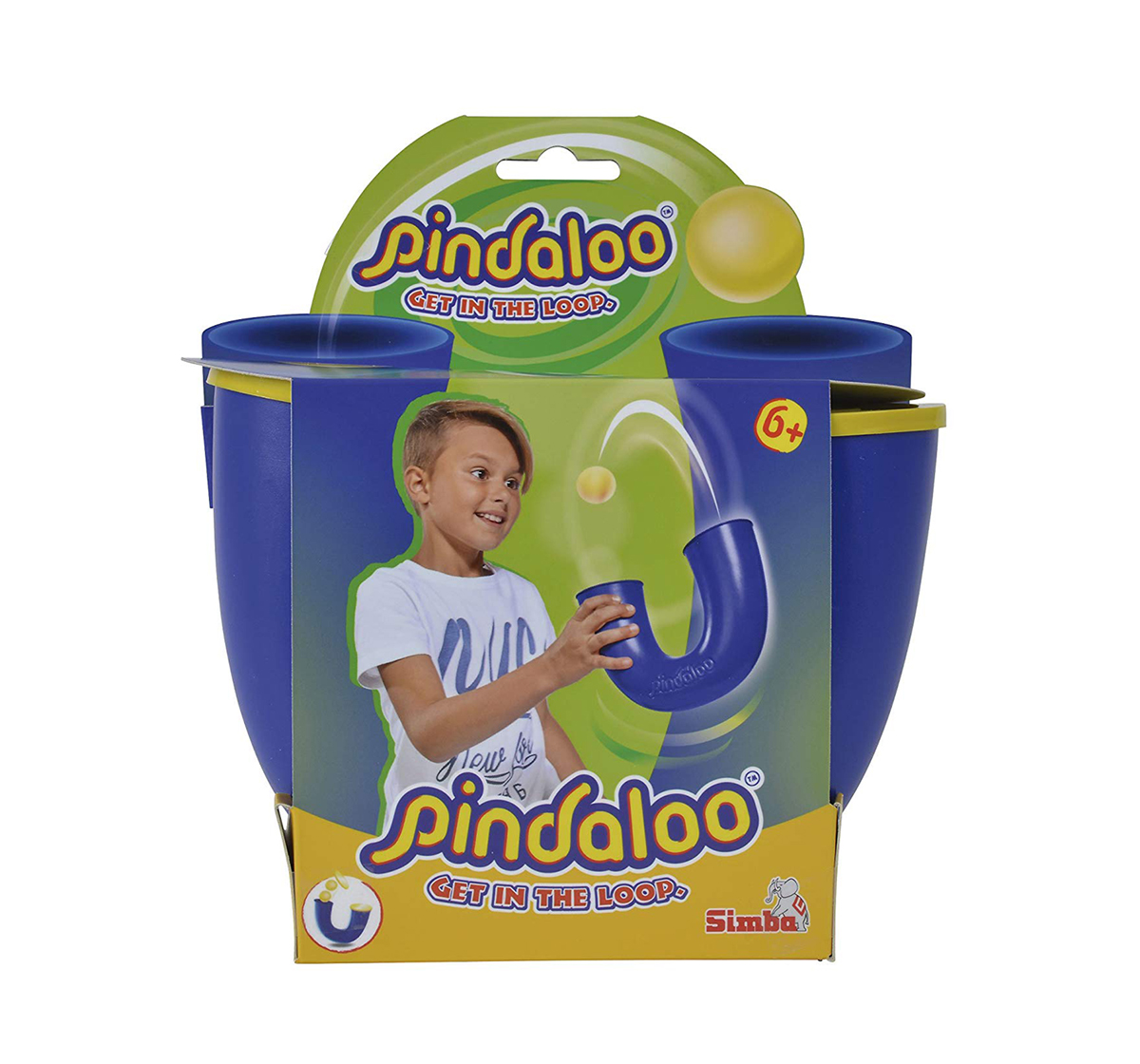 Pindaloo | Simba Pindaloo Ball Game Ball Sports & Accessories for Kids age 6Y+ (Blue)