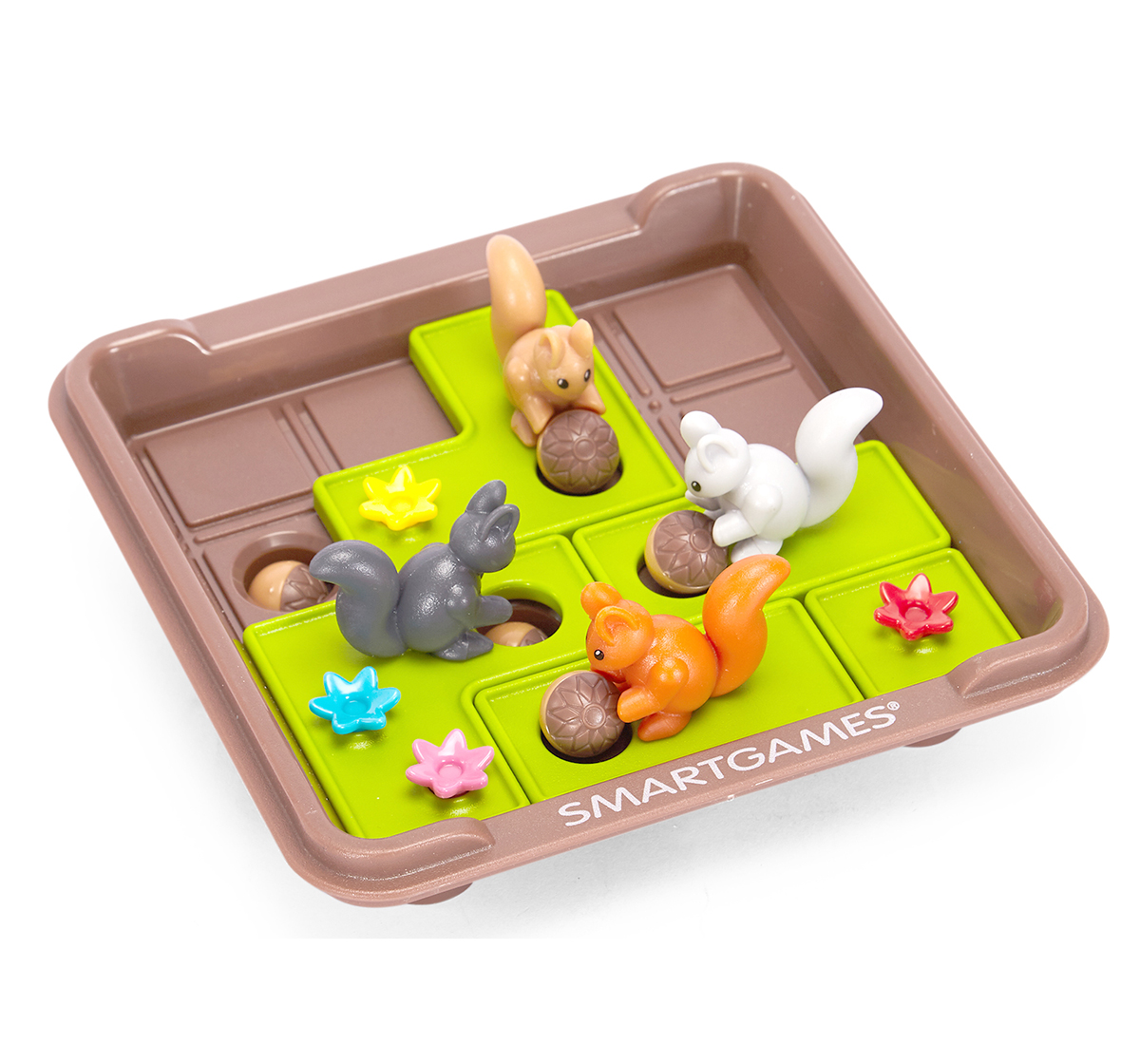 Smart Games | Smart Games Plastic Squirrels Go Nuts (Multicolour) for Kids age 6Y+