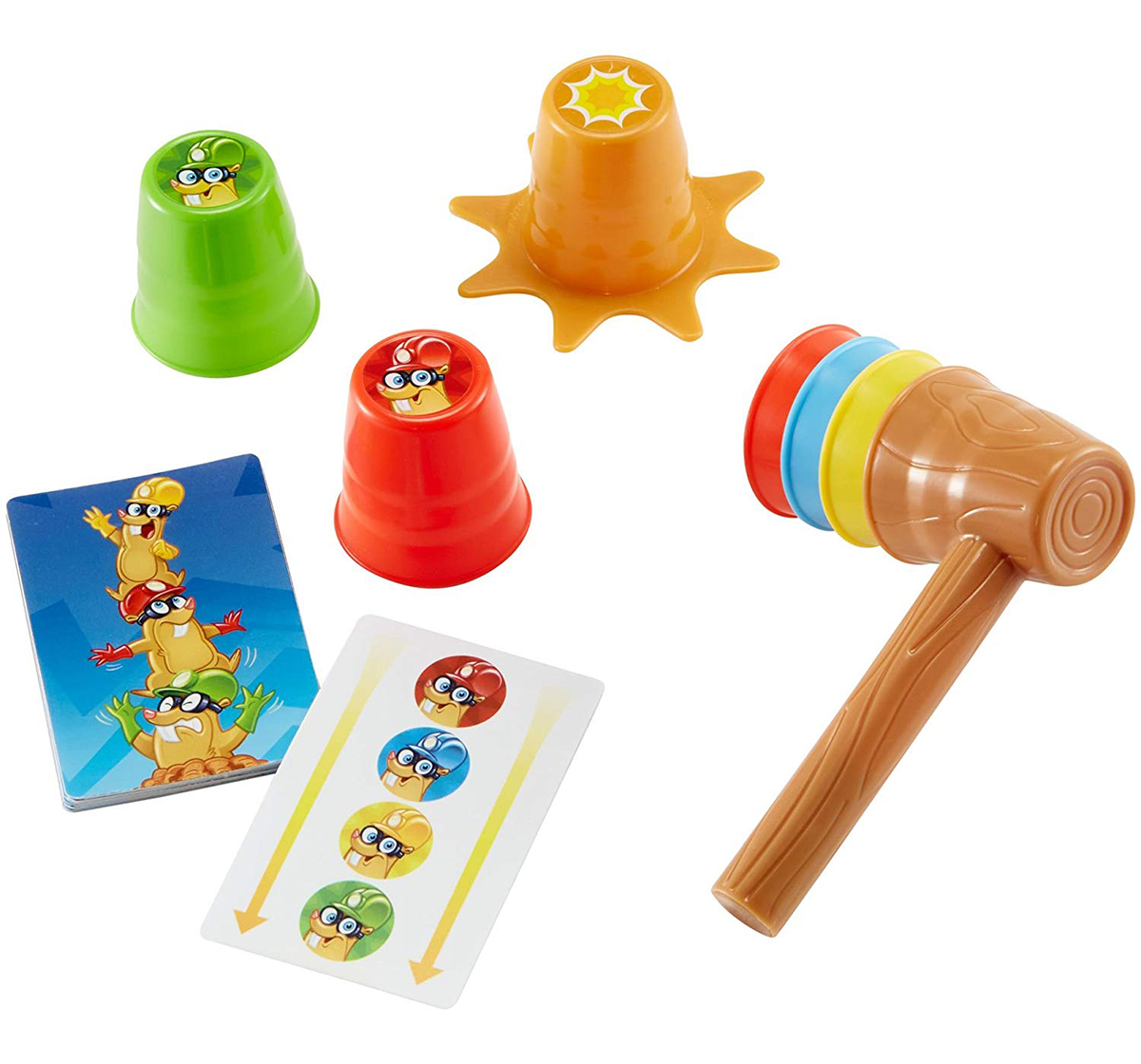 Mattel | Mattel Games Fast Fun Wack A Mole Games for Kids age 3Y+