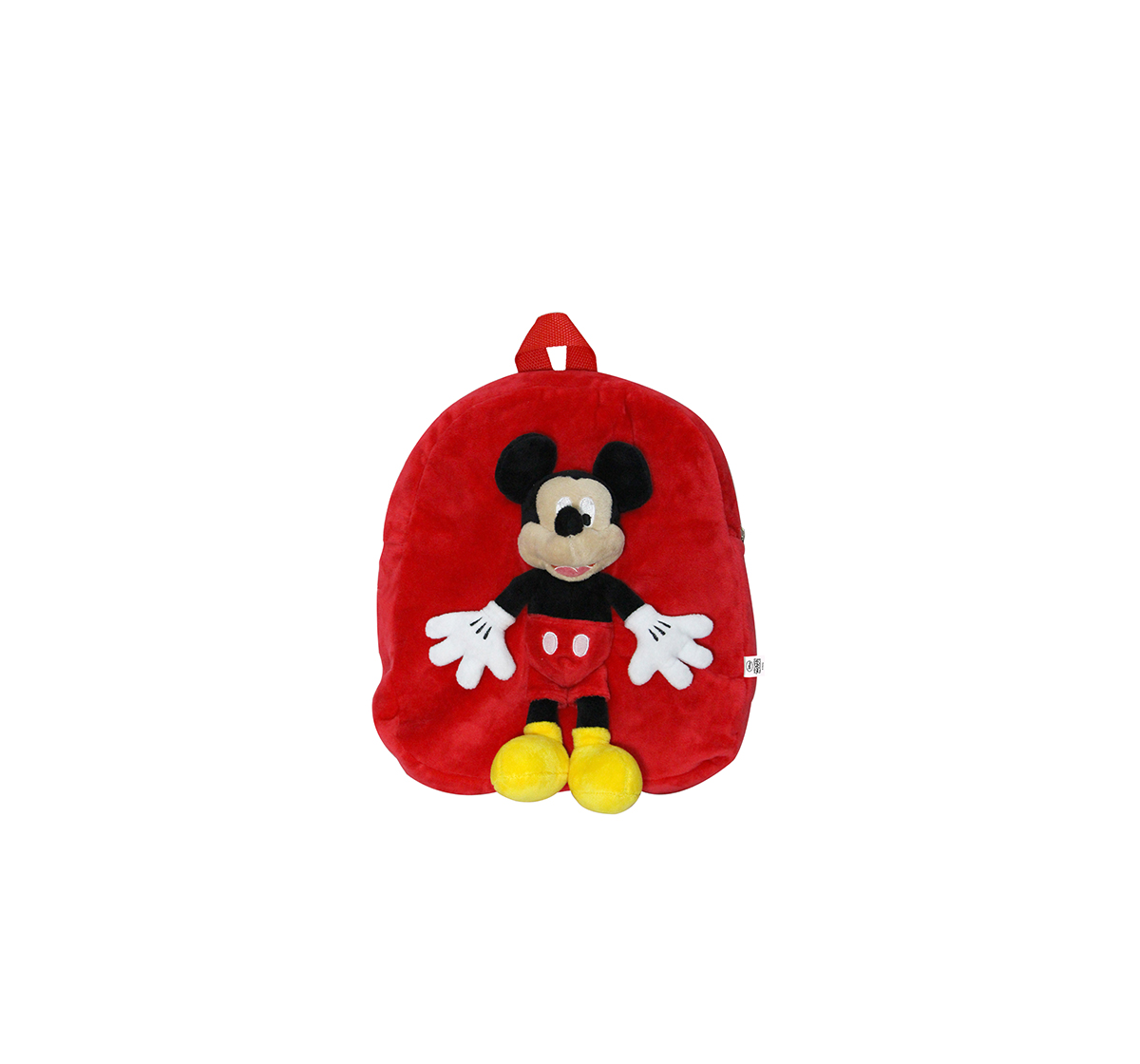 Disney | Disney Happiness Unisex Minnie Backpack_Pink_Free Size Plush Accessories for Kids age 12M+ - 30.48 Cm