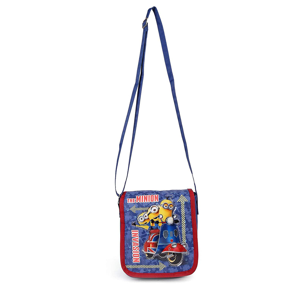 Minions   Minion Invasion Blue Sling Bag for Kids age 3Y+